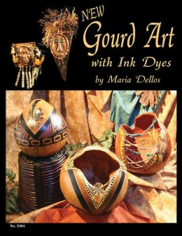 Gourd Art with Ink Dyes