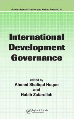 International Development Governance