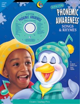Winter Phonemic Awareness Songs and Rhymes: Fun Lyrics Sung to Familiar Tunes