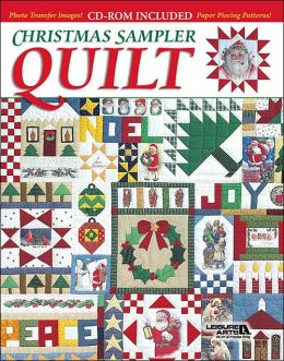 Christmas Sampler Quilt with CD-ROM