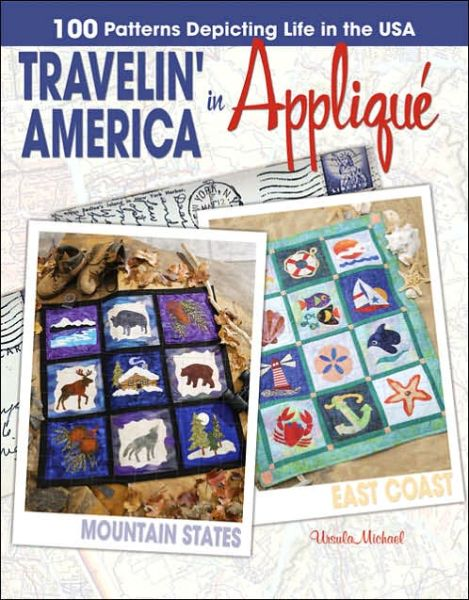 Travelin' America in Applique