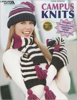 Campus Knits (Leisure Arts #3985)