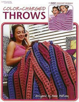 Color-Charged Throws (Leisure Arts #3528)