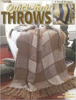 Quick-Knit Throws (Leisure Arts #3615)