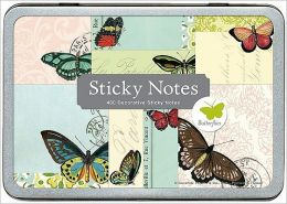 Butterflies Sticky Notes