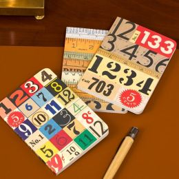 Numbers Mini Notebooks Set of 3