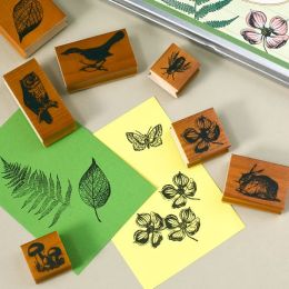 Flora & Fauna Rubber Stamps