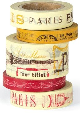 Paris Decorative Paper Tape