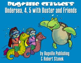Undersea, 4, 5 with Buster and Friends (Skip Counting and Numbers for Preschool and Kindergarten Children and Toddlers)