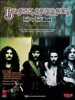 Black Sabbath: Riff by Riff Bass