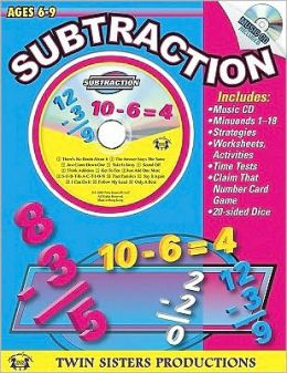 Subtraction Workbook and Music CD