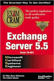 MCSE Exchange Server 5.5 Exam Cram