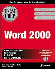 MOUS Word 2000 Exam Prep