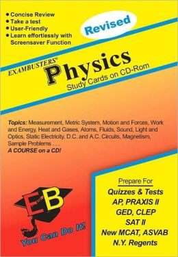 Physics: Exambusters CD-ROM Study Cards