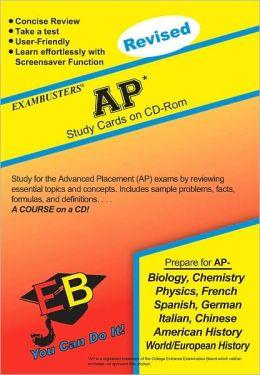 AP: Exambusters CD-ROM Study Cards