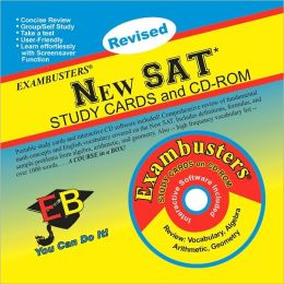 New SAT: Exambusters Study Cards & CD-ROM