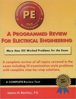 Programmed Review for Electrical Engineering: For the Professional Engineer's Exam