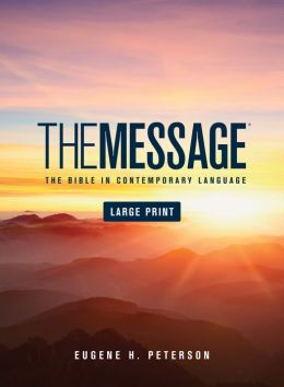 The Message Large Print: Large Print Edition