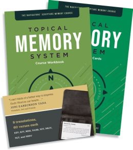Topical Memory System: The Navigators Scripture Memory Course with Cards