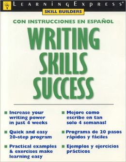 Writing Skills Success: Con Instrucciones En Espanol