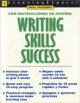 Writing Skills Success: Con Instrucciones En Espanol