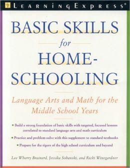 Basic Skills for Homeschooling