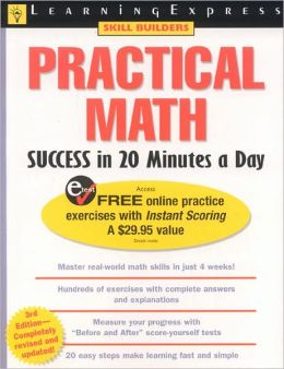 Practical Math Success in 20 Minutes a Day (Skill Builders Series)