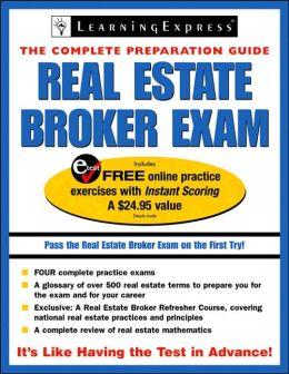 Real Estate Broker Exam