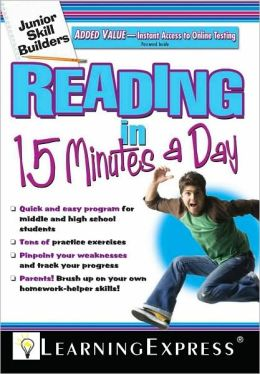 Junior Skill Builders: Reading in 15 Minutes a Day