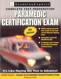 Paramedic Exam