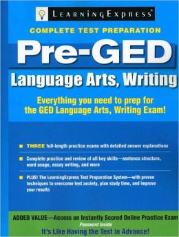 Pre-GED: Language Arts, Writing
