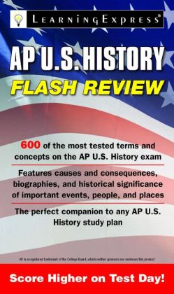 AP U.S. History Flash Review Learning Express Llc