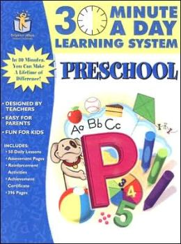 30 Minutes a Day Learning System: Preschool