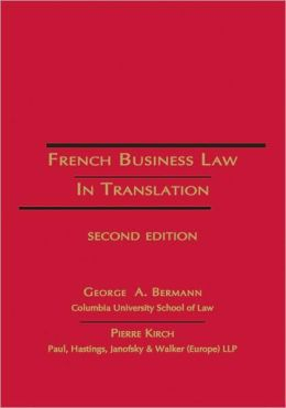 French Business Law in Translation - 2nd Edition