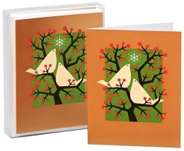 Two Birds Christmas Boxed Cards