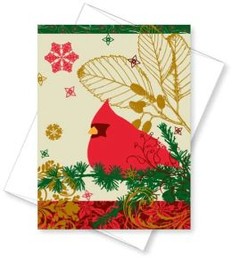 Red Cardinal Christmas Boxed Card