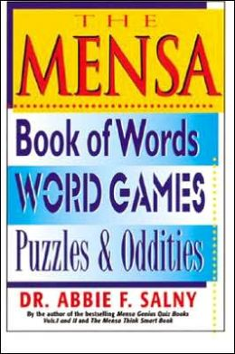 Mensa Book of Words, Word Games, Puzzles, and Oddities