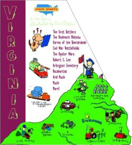 State Shapes: Virginia: Virginia