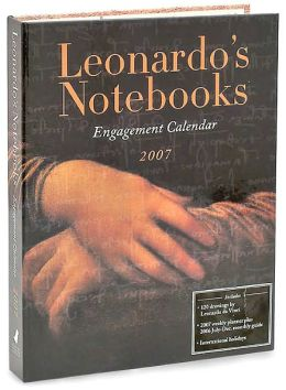 2007 Leonardo's Notebooks Engagement Calendar