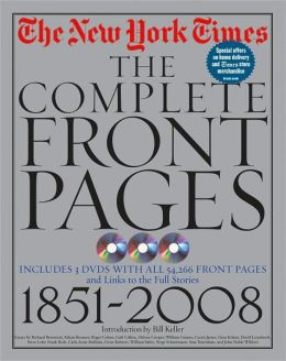 The New York Times: The Complete Front Pages : 1851-2008