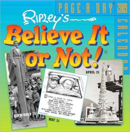 2009 Ripley's Believe It or Not! Page-A-Day Calendar