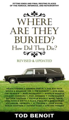 Where Are They Buried: How Did They Die? Fitting Ends and Final Resting Places of the Famous, Infamous, and Noteworthy