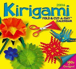 2004 Kirigami Daily Boxed Calendar