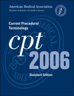 CPT 2006 Standard Edition