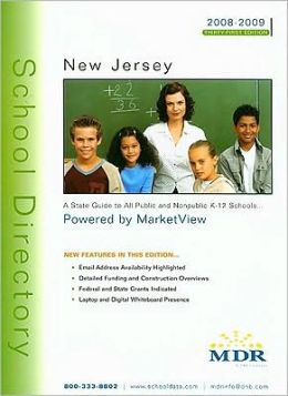 Mdr's School Directory New Jersey 2008-2009