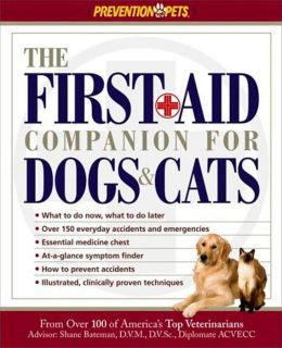 First-Aid Companion for Dogs and Cats