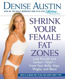 Shrink Your Female Fat Zones: Lose Pounds and Inches - Fast! - From Your Belly, Hips, Thighs and More