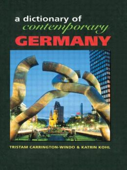 Dictionary of Contemporary Germany