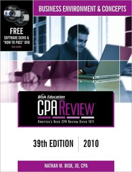 CPA Comprehensive Exam Review: Business Environment and Concepts