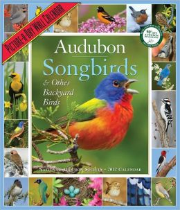 2012 Audubon Songbirds & Other Backyard Birds Picture-A-Day Wall Calendar